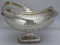 Bowl with handle - silver 84 zolotniki russia