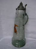 Art Nouveau - decanter / flagon